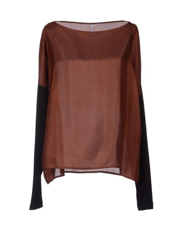巧克力色 LAVINIATURRA 女士衬衫