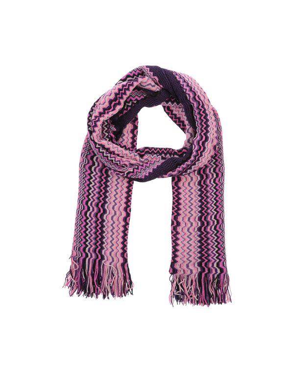 紫色 MISSONI 长方披肩