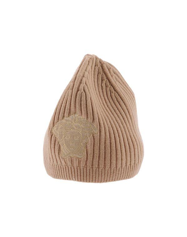 沙色 VERSACE 帽子
