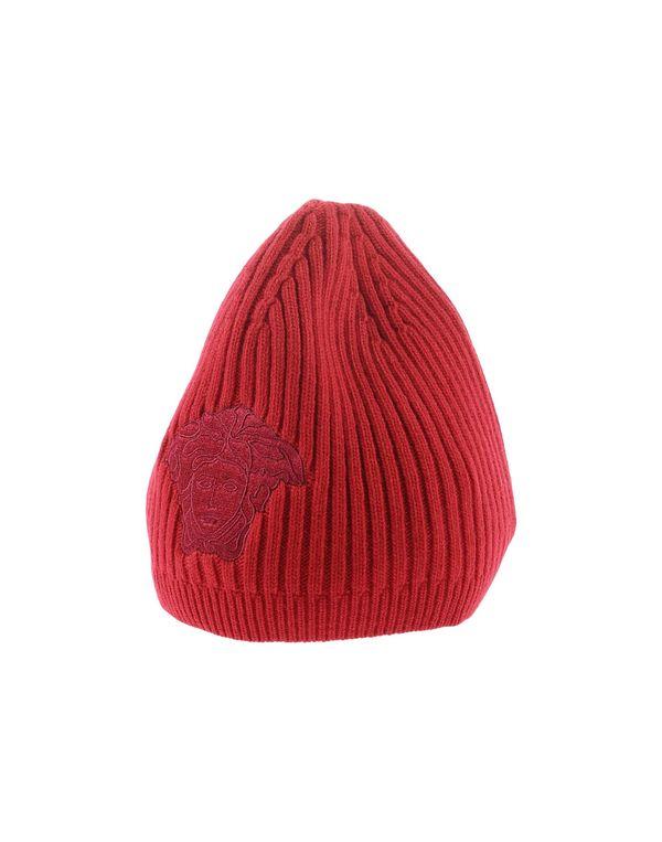 红色 VERSACE 帽子