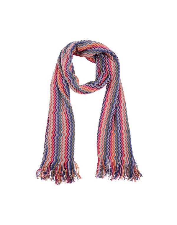粉红色 MISSONI 围巾