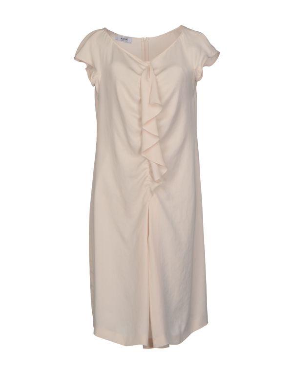 米色 MOSCHINO CHEAPANDCHIC 短款连衣裙