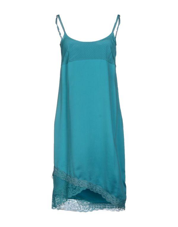 蓝绿色 LIU •JO 短款连衣裙