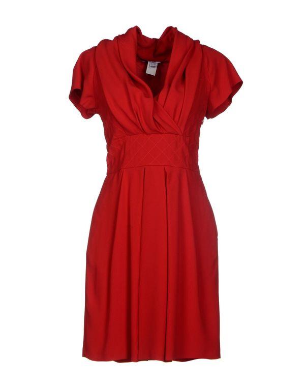 红色 MOSCHINO 短款连衣裙