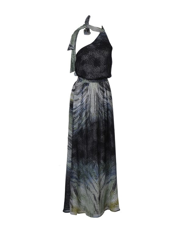灰色 LIU •JO 长款连衣裙