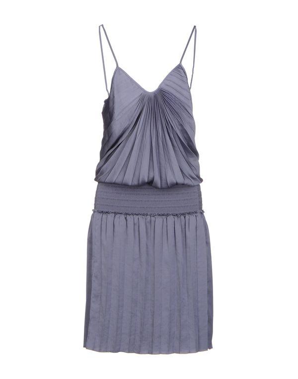 丁香紫 PATRIZIA PEPE 及膝连衣裙