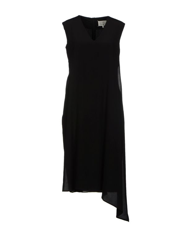黑色 MAISON MARTIN MARGIELA 4 及膝连衣裙