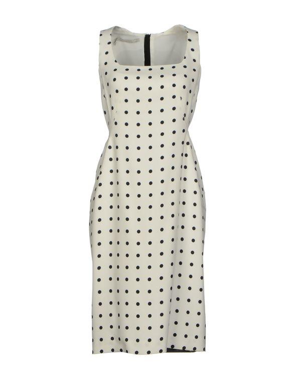 白色 AQUILANO-RIMONDI 短款连衣裙