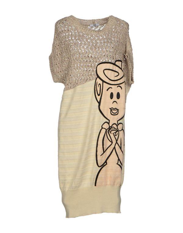 米色 ICE ICEBERG 短款连衣裙