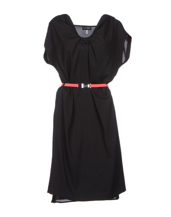黑色 ARMANI JEANS 短款连衣裙