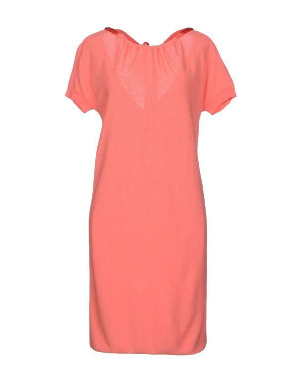 珊瑚红 EMPORIO ARMANI 短款连衣裙