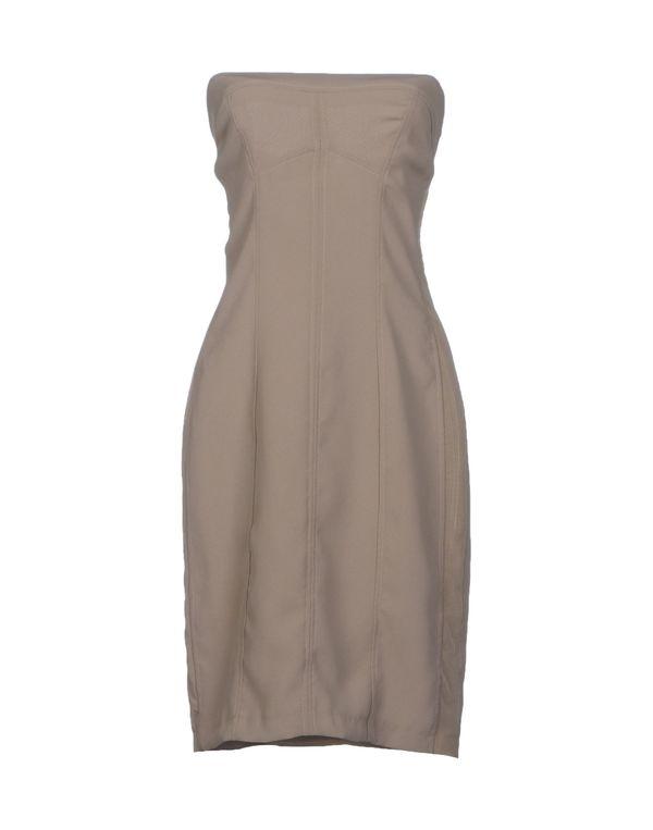 灰色 TWIN-SET SIMONA BARBIERI 短款连衣裙
