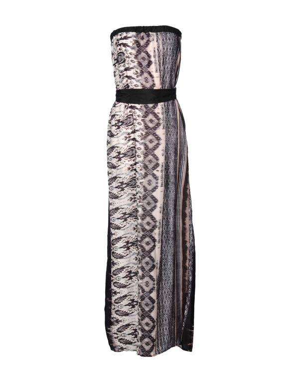 鸽灰色 KAOS 长款连衣裙