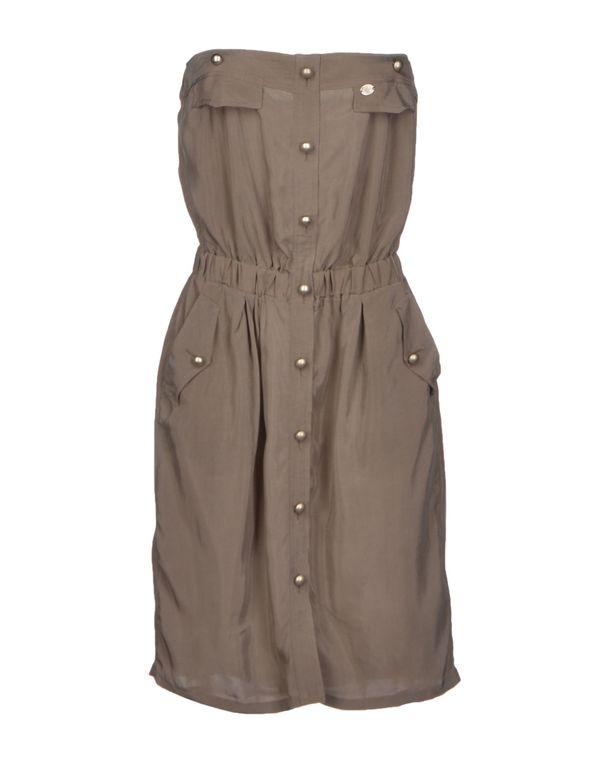 灰色 LIU •JO JEANS 短款连衣裙