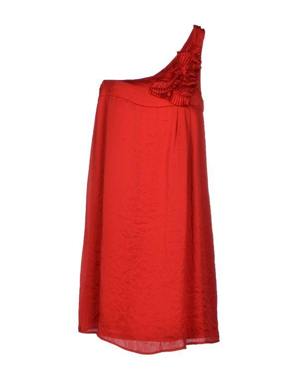 红色 LIU •JO JEANS 短款连衣裙