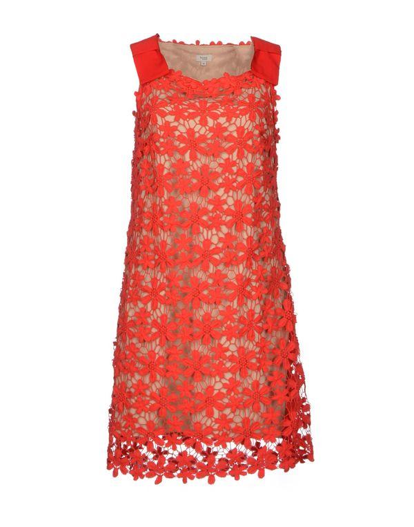 红色 HOSS INTROPIA 短款连衣裙