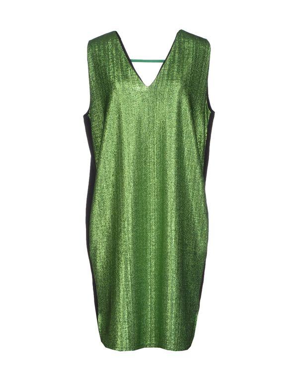 绿色 NUDE 短款连衣裙