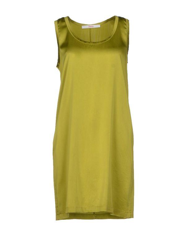 绿色 JUCCA 短款连衣裙