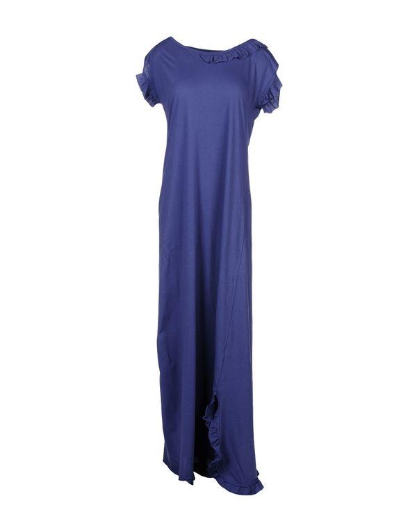 蓝色 JUCCA 中长款连衣裙