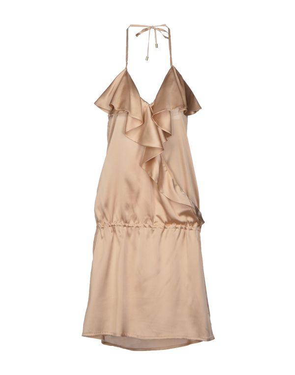 米色 BRIAN DALES 短款连衣裙