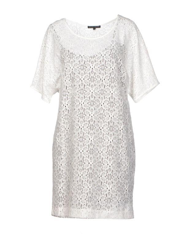 白色 BRIAN DALES 短款连衣裙