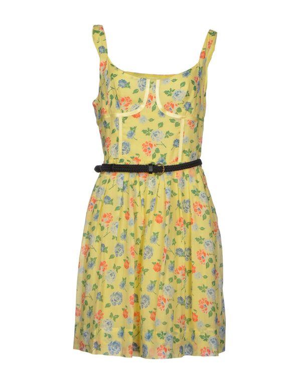 浅黄色 KOOKAI 及膝连衣裙