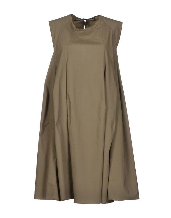 军绿色 HACHE 短款连衣裙