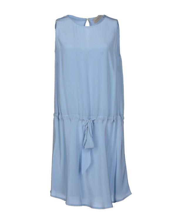 天蓝 ...À_LA_FOIS... 及膝连衣裙