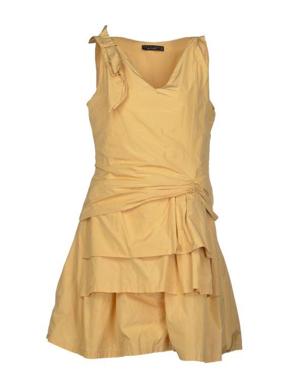 赭石色 TWIN-SET SIMONA BARBIERI 短款连衣裙