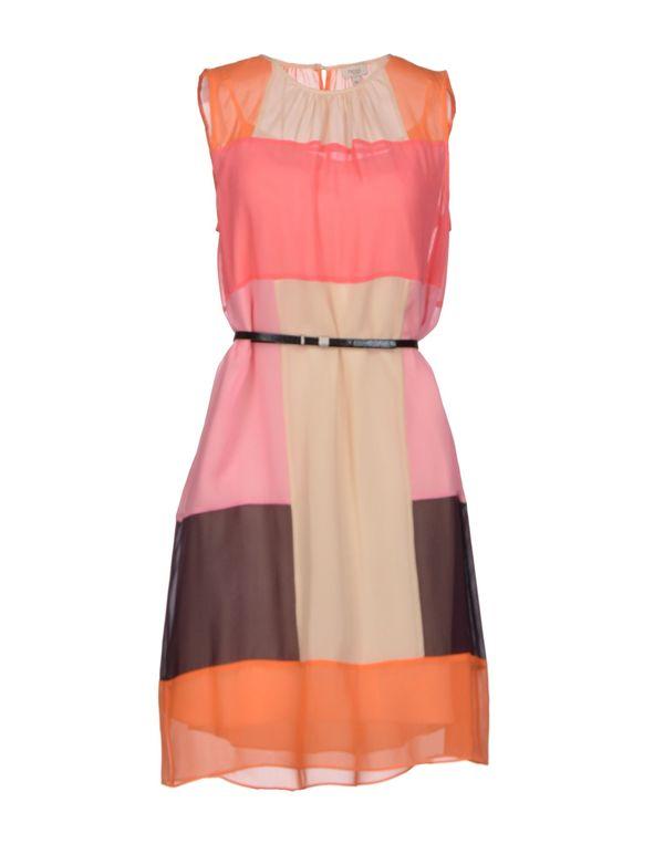 浅紫色 HOSS INTROPIA 短款连衣裙