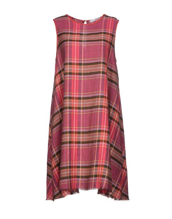 石榴红 JUCCA 短款连衣裙