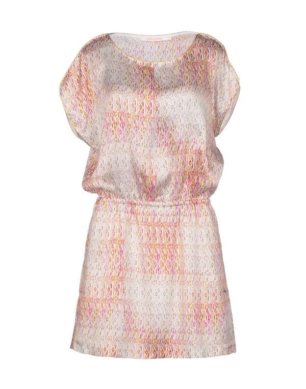 浅粉色 VIRGINIE CASTAWAY 短款连衣裙