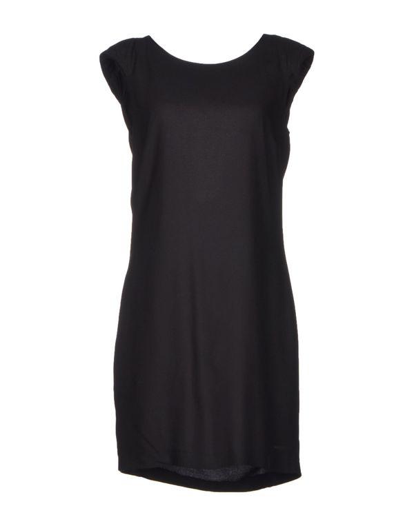 黑色 VIRGINIE CASTAWAY 短款连衣裙