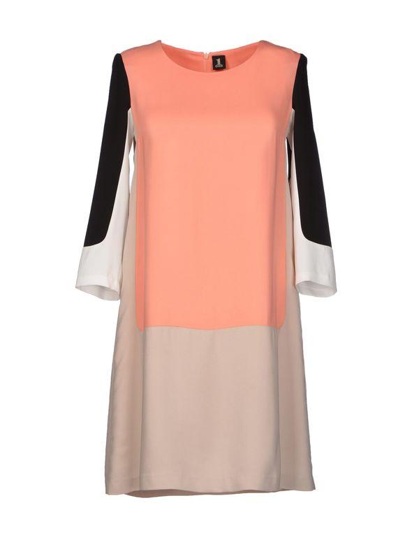 粉红色 1 ONE 短款连衣裙
