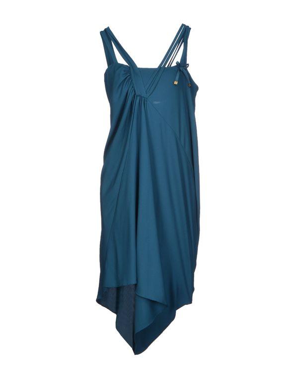 孔雀绿 LIU •JO 短款连衣裙