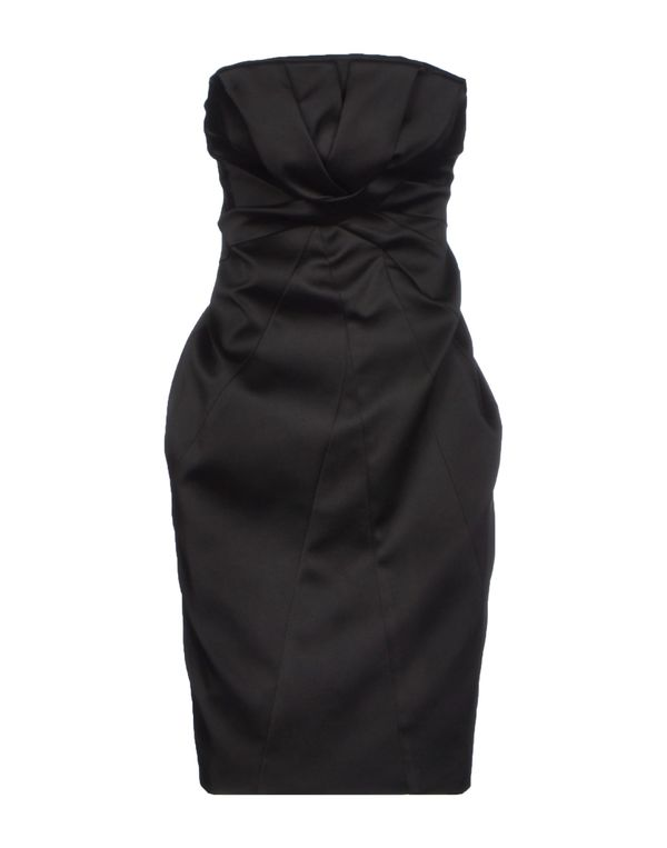 黑色 ADELE FADO QUEEN 短款连衣裙