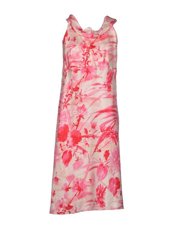 粉红色 ASPESI 中长款连衣裙