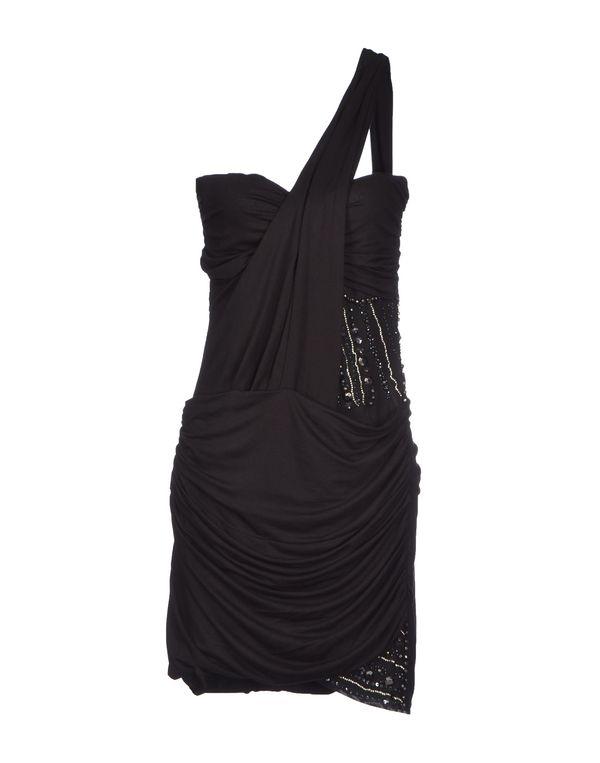 黑色 MET MIAMI COCKTAIL 短款连衣裙