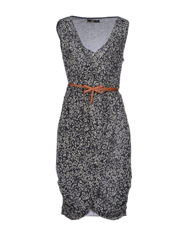 铅灰色 AJAY 短款连衣裙