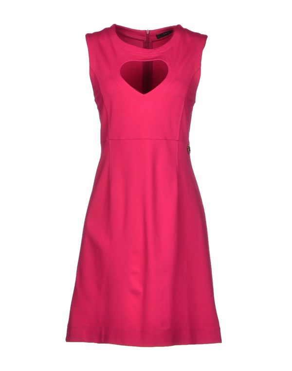 石榴红 TWIN-SET SIMONA BARBIERI 短款连衣裙