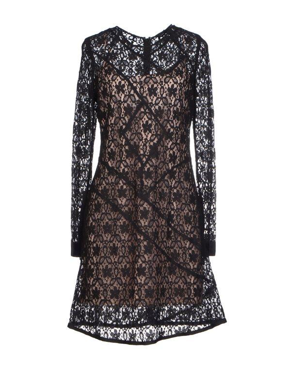 黑色 MARC BY MARC JACOBS 短款连衣裙