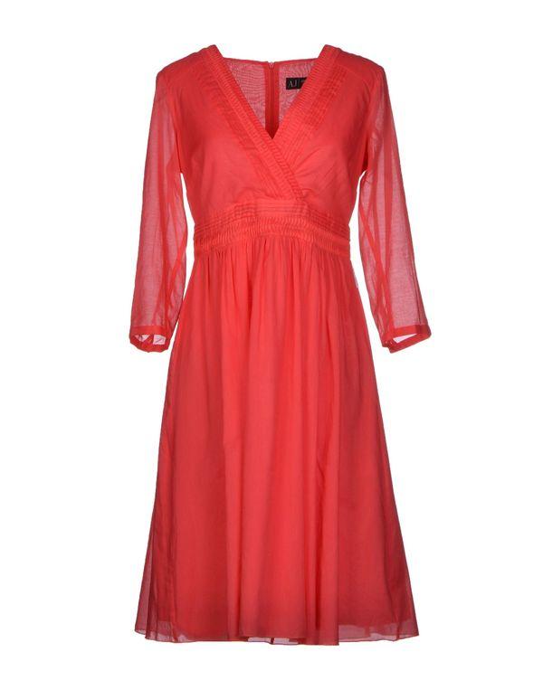 红色 ARMANI JEANS 短款连衣裙