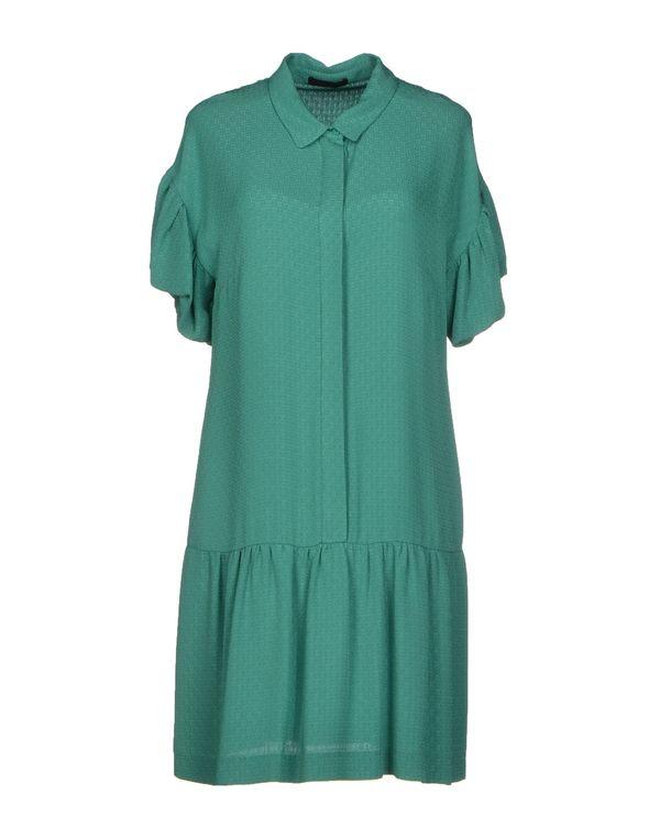 绿色 PINKO BLACK 短款连衣裙