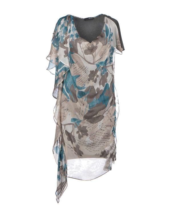 米色 LIU •JO 短款连衣裙