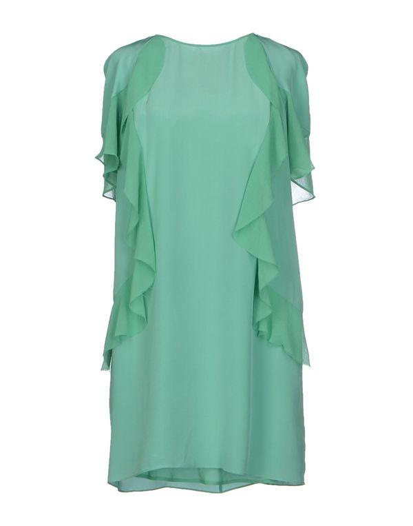 浅绿色 PINKO BLACK 短款连衣裙