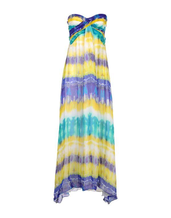 黄色 MSGM 长款连衣裙