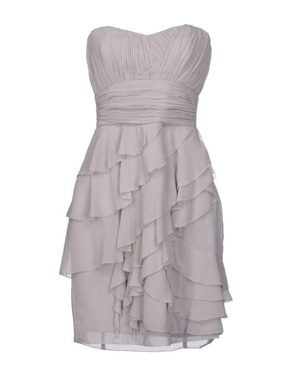 淡灰色 LIPSY 短款连衣裙