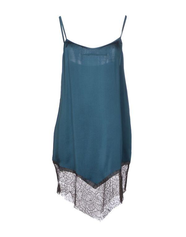 深绿色 JUCCA 短款连衣裙