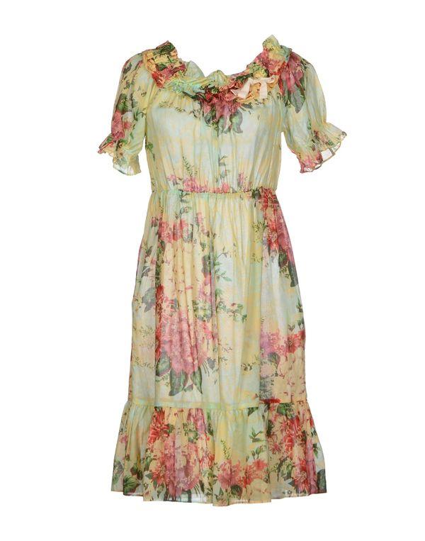 浅绿色 HOSS INTROPIA 短款连衣裙