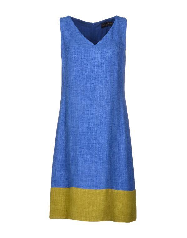 蓝色 PIAZZA SEMPIONE 短款连衣裙